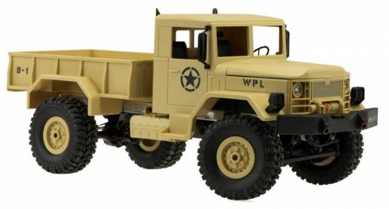 Samochód RC wojskowy pustynny #E1